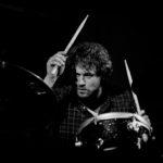 Florian Hoesl on drums